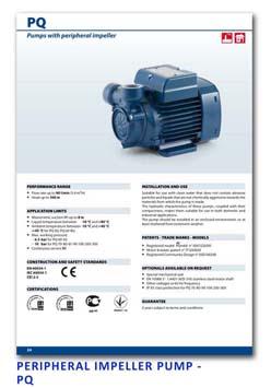 11 Pedrollo Peripheral Impeller Pump - PQ