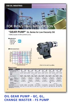 Koshin Oil - Gear Pump - GC-GL-Change Master-FS Pump