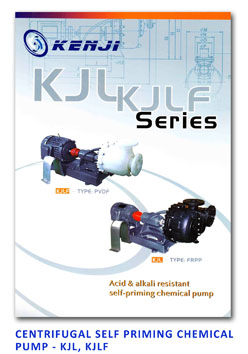 APP - Centrifugal Self Priming Chemical Pump - KJL - KJLF