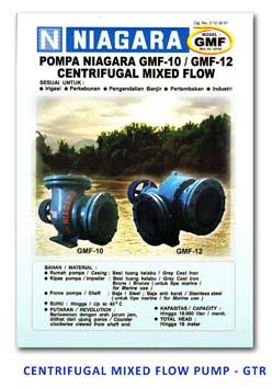 Niagara - Centrifugal Mixed Flow Pump - GMF